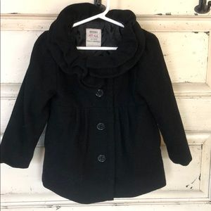 Old Navy toddler girl pea coat